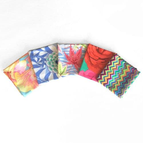 Kaffe Fassett 5 Fat Quarters - Adventurous Lights