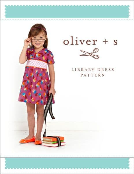 Library dress - Oliver and S sewing pattern