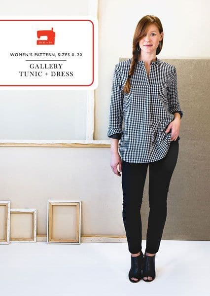 Liesl & Co Galley Tunic and Dress sewing pattern