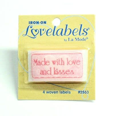 Made With Love and Kisses Labels