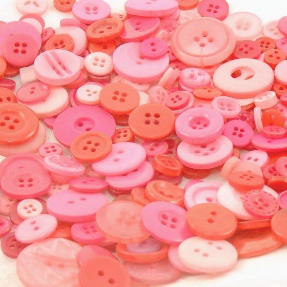 Pink Button Mix