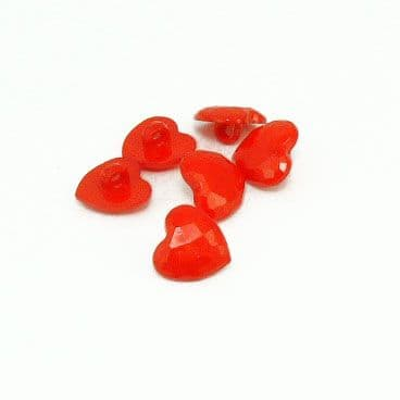 Red Heart buttons