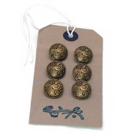 Vintage style Flower buttons