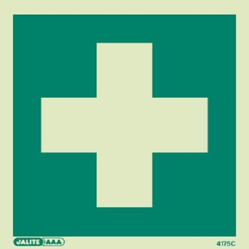(4175) First Aid Symbol Sign