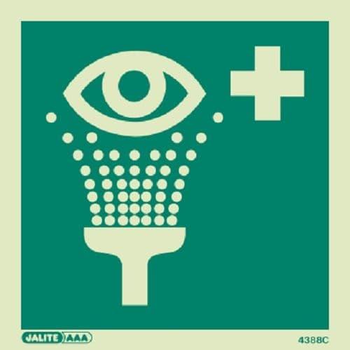 (4388) Emergency Eye Wash Symbol Sign