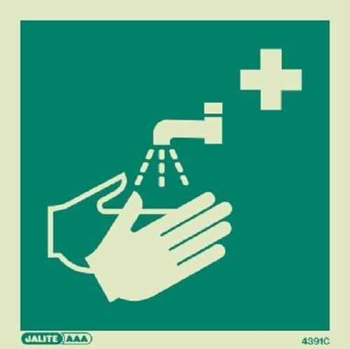 (4391) Hand Washing Facility Symbol Sign