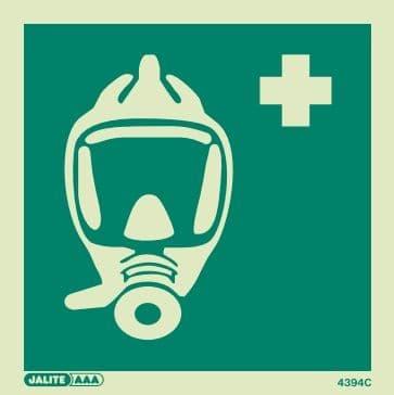 (4394) Breathing Apparatus Symbol Sign