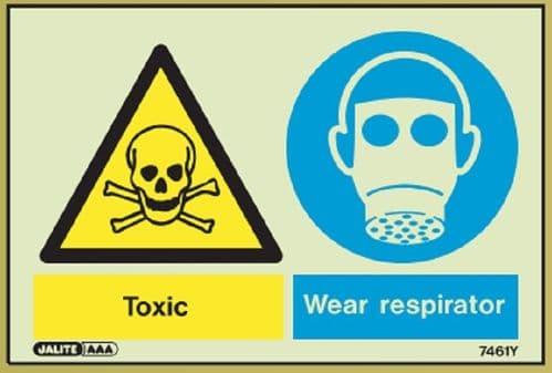 (7461) Jalite Toxic / Wear respirator