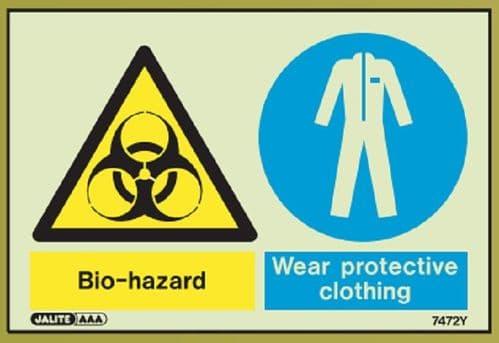 (7471) Jalite Bio-Hazard / Wear protective clothing