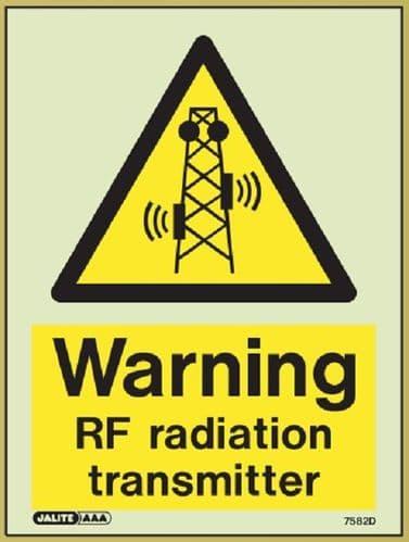 (7582) Jalite Warning RF radiation transmitter