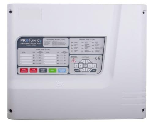 (IN6) Zeta Infinity 6 Zone Conventional Fire Alarm Panel