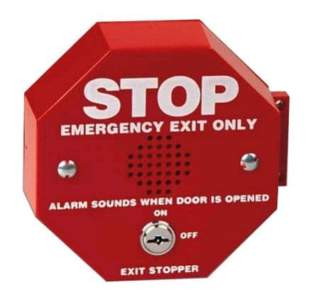 (S6400) Emergency Exit Stopper Door Alarm