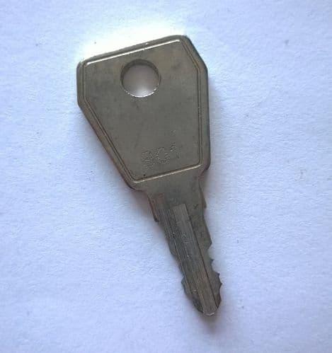 801 Cabinet Lock Key for Kentec / Gent Control Panels