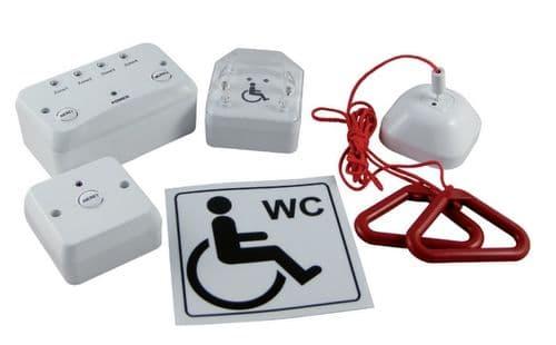 Disabled Toilet Alarm 1 Zone Kit