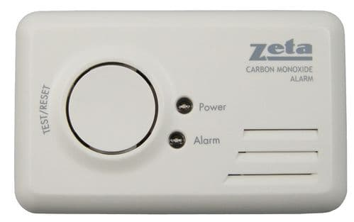 Domestic LED CO Alarm - includes 1 year battery (BSI Approved)