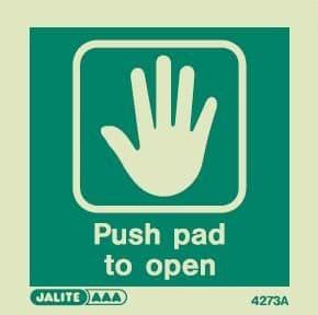 Emergency Door Signs