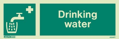 Jalite Drinking Water Sign (4384)