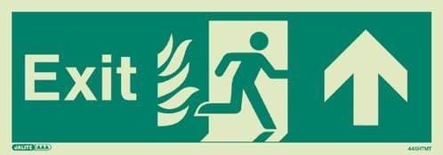NHS Estates Exit Signs