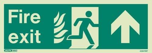 NHS Estates Fire Exit Signs