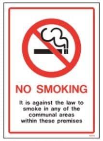 No Smoking / Smoking Area