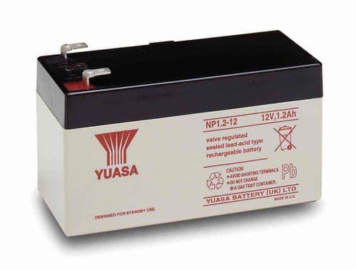NP1.2-12 Yuasa 12v 1.2Ah Battery