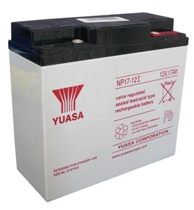 NP17-12 Yuasa 12v 17Ah Battery