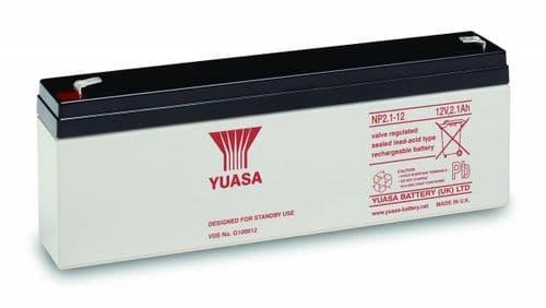 NP2.1-12 Yuasa 12v 2.1Ah Battery