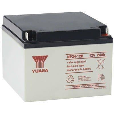 NP24-12 Yuasa 12v 24Ah Battery