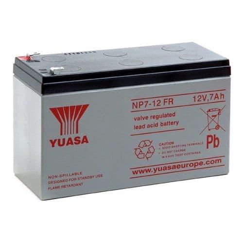 NP7-12 Yuasa 12v 7Ah Battery