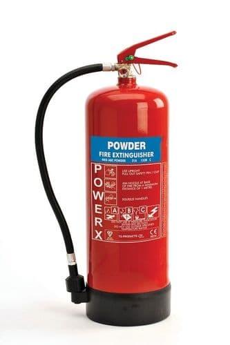 POWDER ABC Extinguisher 'PowerX' - *various sizes*