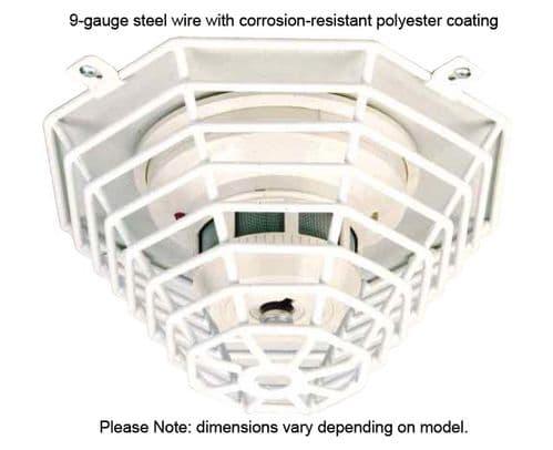 STI Steel Web Smoke Detector Stopper Cage