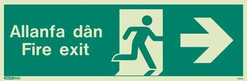 Welsh / English Fire Safety Signs