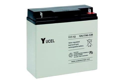 Y17-12 Yucel 12v 17Ah Battery