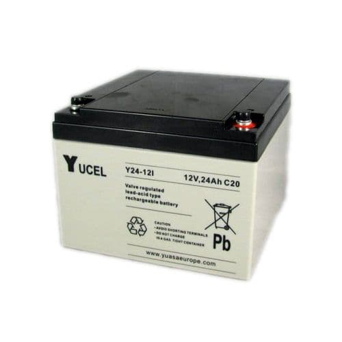 Y24-12 Yucel 12v 24Ah Battery