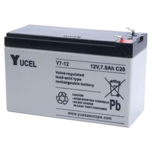 Y7-12 Yucel 12v 7Ah Battery