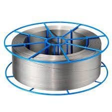 0.8 mm  316 Lsi stainless steel Mig wire.