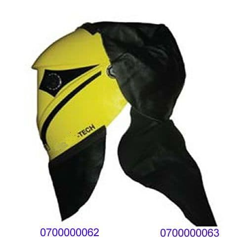 0700000063 Esab Warrior air leather head and neck protector
