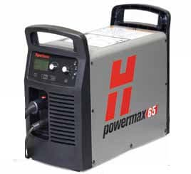 083268 Hypertherm powermax 65  plasma cutter, with 14 pin cpc port, for automated use,