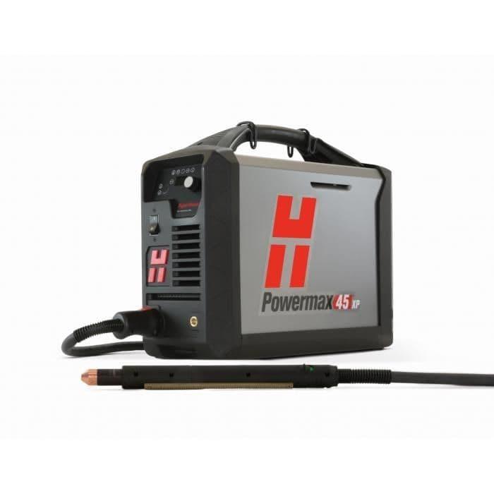 088141 Hypertherm Powermax45 XP 240 volt plasma cutter 7.6 m machine torch