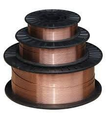 1.2 mm A18 Mild steel welding wire spools.
