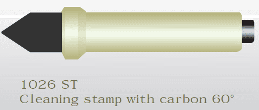 1026 ST Carbon stamp 60 degree Anode