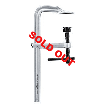 300x120mm Heavy duty F clamp with T bar Handle