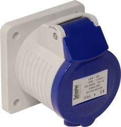 32 amp 240 volt blue panel socket
