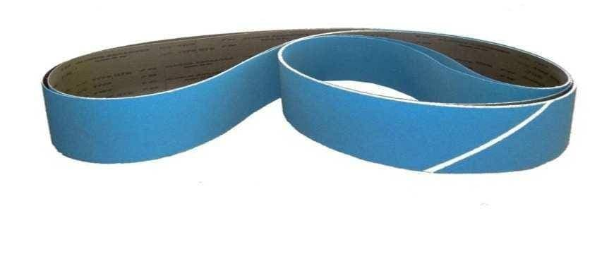 40 x 760 mm Zirconia cloth abrasive belts pack of 10
