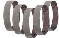 40 x 760mm Pyramid abrasive cloth belts pk5