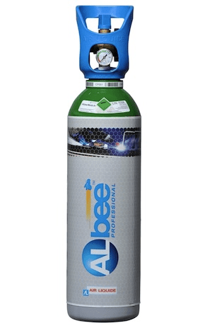 Albee 11 litre Argon Rental free Gas Cylinder and gas. REFILL EXCHANGE