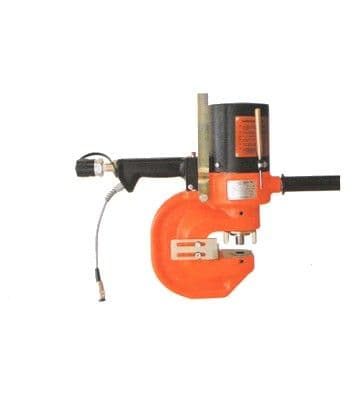 Alfra Press APS 70 portable hydraulic punching machine with auto stroke return