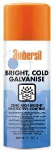Ambersil Bright Cold Galvanising Zinc Spray
