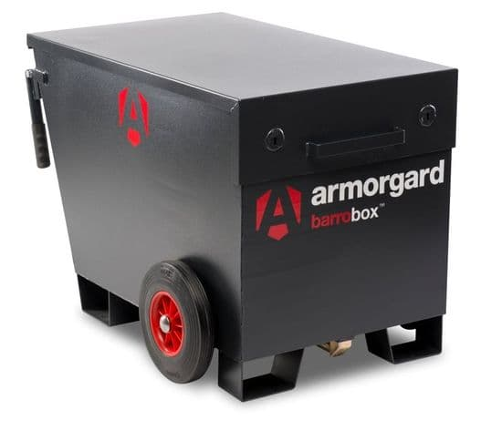 Armorgard Barrobox , versatile mobile site storage.