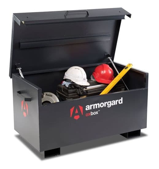 Armorgard Oxbox, manufactured from 1.5 and 2 mm steel.